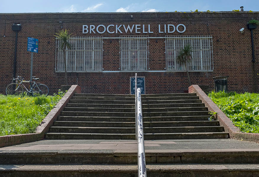 Brockwell Park's lido